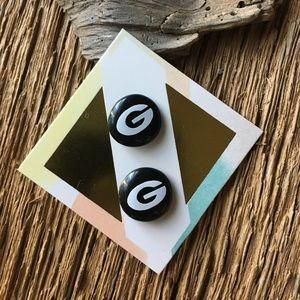 Jewelry - UGA Bulldogs post earrings, Georgia earrings UGA
